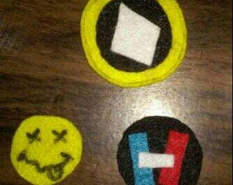 Nirvana 21 pilots skullgirls patches