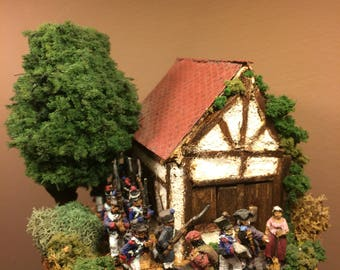 The Lost French platoon - Napoleonic Diorama