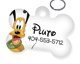 Disney Pluto Custom Personalized Pet Tag for Dog