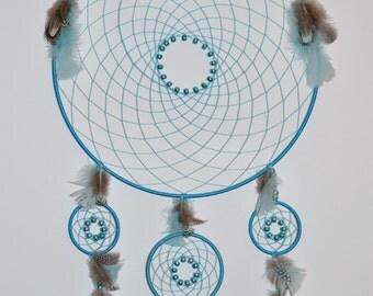 Large Blue Dreamcatcher
