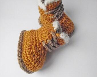 Crochet Baby Booties, Crochet Baby Boots Crochet Baby Timberland, Baby Shower Gift, Newborn Booties, Baby Booties, Baby