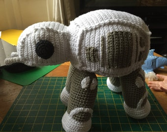 Giant cuddly at-at