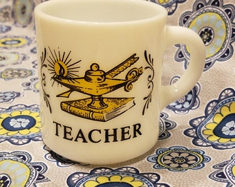 Hazel atlas Teacher mug