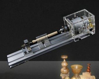 DIY Lathe Polishing Cutting Mini Drill Rotary Tool Standard Set with Power Supply