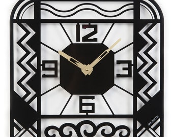 Art Deco clock Charleston