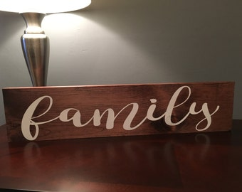 Family sign| home decor| sign