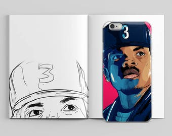 Chance the Rapper Blessings iPhone Case by AKARTS