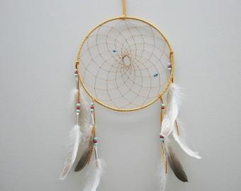 "ONE (1) Native-Made Dreamcatcher: 10"""