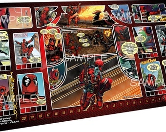 Deadpool - Dice Masters Playmat