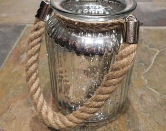Silver Hanging Jars