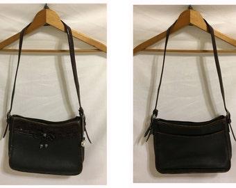 Brighton Bag/Leather Purse/Shoulder Bag/Vintage Purse