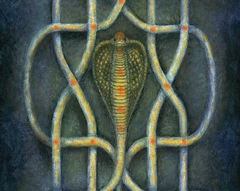 Naga Serpent Art Print