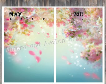 May Monthly kit for Erin Condren and Happy Planner