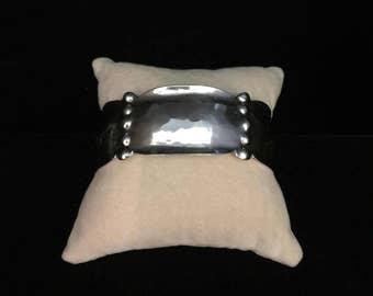 KALO Chicago Sterling Silver Cuff Bracelet | Vintage ca. 1920