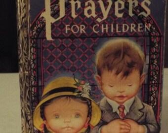 Vintage Golden Book- Prayers for Children