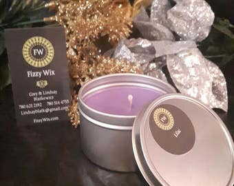 Lilac 100% Soy Candle