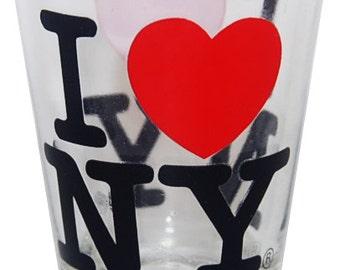 I Love New York Shotglass's