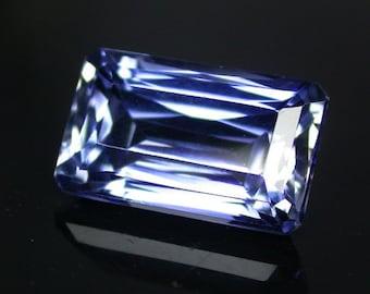 8.6 ctw. blue sapphire loose gemstone.
