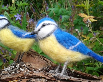 BLUE TIT Needle Felt Kit