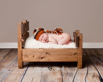 Wooden Bed Photography Prop, Bed Photo Prop, Newborn Bed Prop, Photography Prop