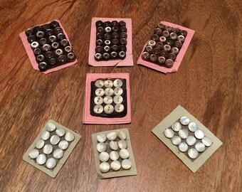 120 Tiny, Tiny Vintage Buttons