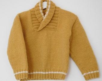 Boys Sweater, Baby sweater, Boys aran jumper