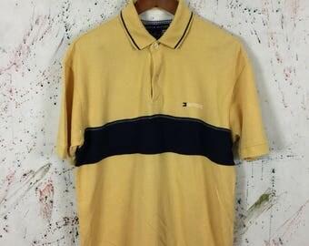 Vintage Tommy Hilfiger Polo Shirt 90s Size M