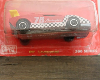 237 Lamborghini 200 Series Die Cast Metal Toy Car