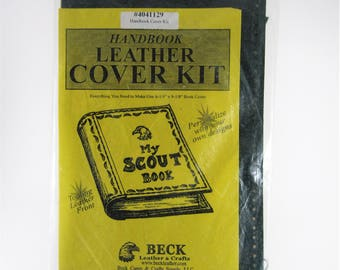Scout Handbook Leather Cover Kit