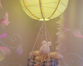 Up Up & Away! Hot Air Balloon!  Whimsical Design!  Cottontail Collection!