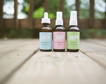 Organic Skin Care Sets, Organic Face Wash, Organic Rosewater, Organic Face Serum