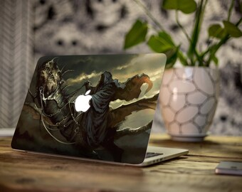 Macbook Sticker/ Lord Of The Rings/ Nazgul Decal/ Nazgul/ LOTR Decal/ Amazing Decal/ Vinyl Decal/ Geeky Decal/ Laptop Decal - SD041