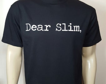 Men's Dear Slim, Black T-Shirt / Eminem