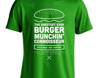 Green Burger Munchin' Tshirt