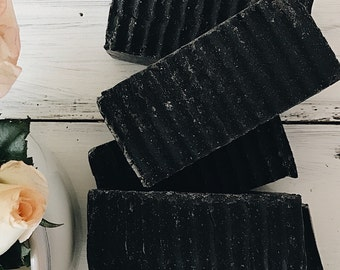 Detox soap, facial soap, activated charcoal soap, oily skin soap, tea tree oil soap,