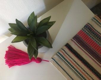 Tassel Picnic Rug, Blanket, boho