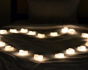 Heart String Lights Fairy Lights Bedroom Fairy Lights Hanging Lights Indoor String