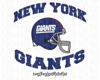NY Giants Logo Pack Vector Art, svg dxf fxg pdf File Format Download