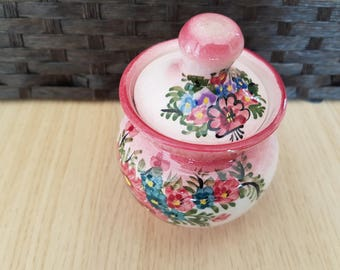 BEAUTIFUL HANDMADE in Greece Aris lidded Pot