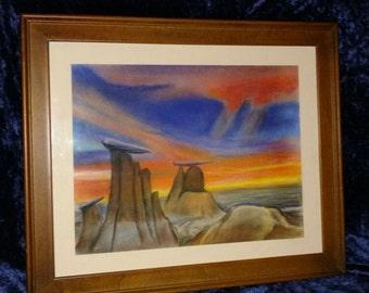 Mesa Hills at Sunset