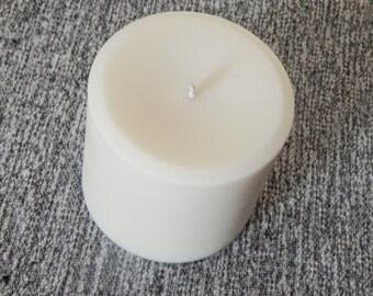 "4""x 4.5"" CinnaBun Pillar Candle"