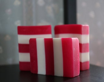 50% off - Candy Cane Peppermint Soap