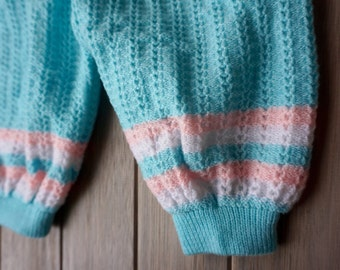 1980's Knitted Bubble Bloomers- 9-12 months
