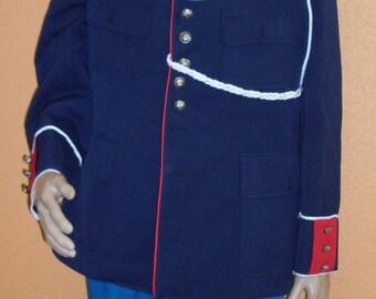 Costume man Constable 1900, ref: U2, U3, size 44/46.