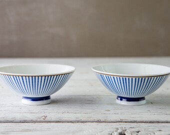Set of 2 Rice Bowls-Food Photography Prop