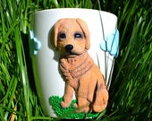 Personalized mug labrador, Labrador retriever, Mugs dog owner, Coffee mug dogs, Your photo puppy, Name mug, Character mug, Coffee cup