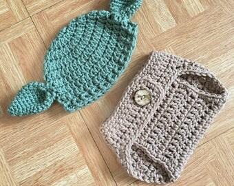 Baby Star Wars, Newborn Outfit, Newborn Photo Outfit, Newborn Set, Baby Yoda Hat, Newborn Crochet, Baby Hat, Crochet Baby Outfit, Yoda Hat