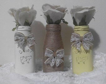 Decortive  bottles