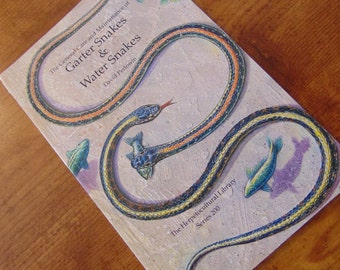 Garter Snakes and Water Snakes  , David Perlowin , 1994 , General Care and Maintenance