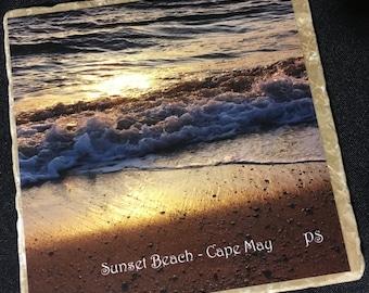 Trivet/Hot Plate - Sunset Beach, Cape May, NJ
